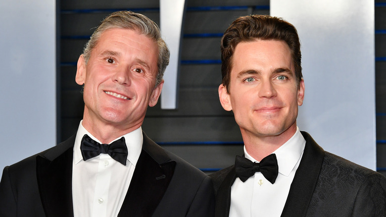 Matt Bomer husband Simon Halls