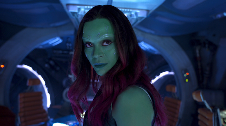 Gamora Zoe Saldana Guardians of the Galaxy Avengers MCU