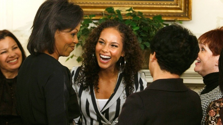 Michelle Obama Alicia Keys