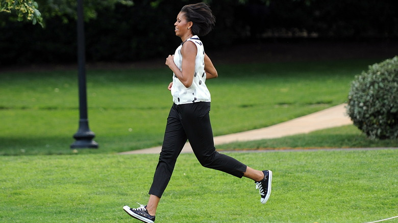 Michelle Obama exercise fitness