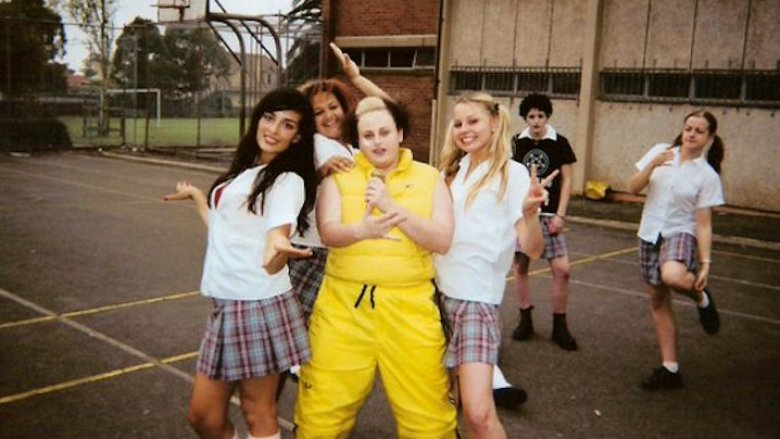 Rebel Wilson teenager