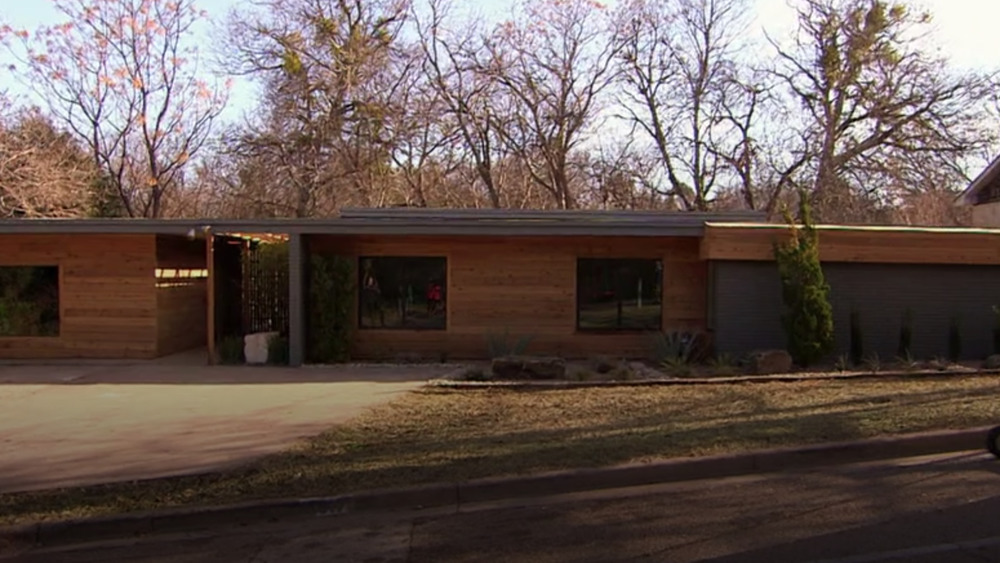 The Midcentury Modern Home from Fixer Upper, exterior