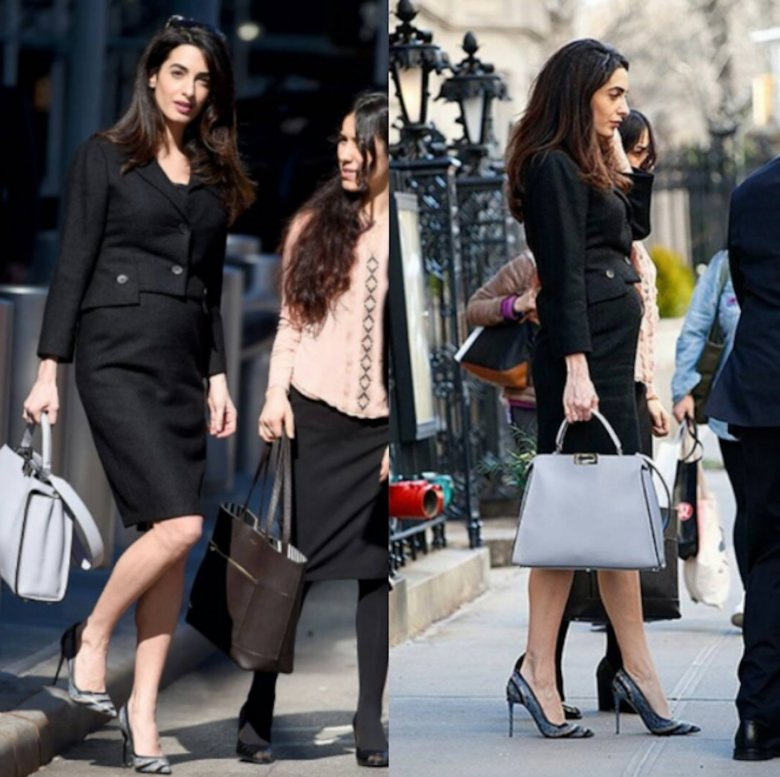 Amal Clooney's stunning pregnancy style