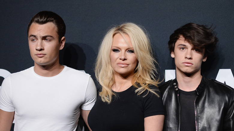 pamela anderson u0026 39 s sons grew up to be gorgeous