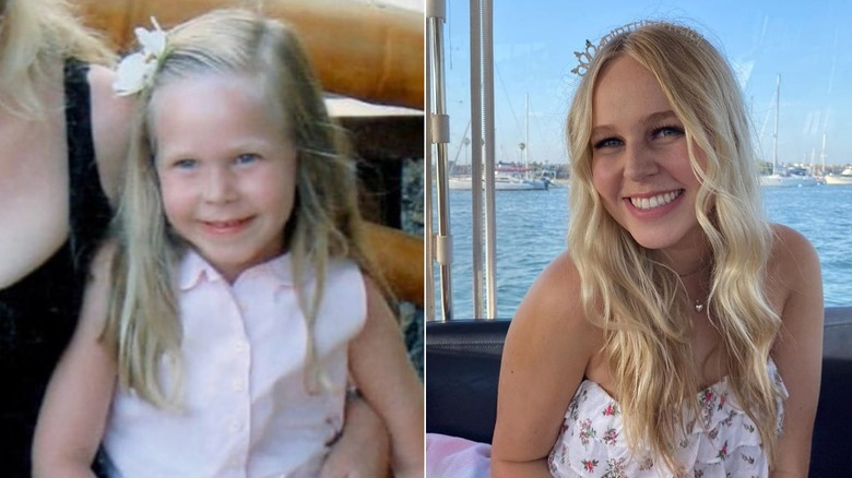 Sophie Beador from Real Housewives, then and now