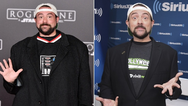 Kevin Smith before and after weight loss