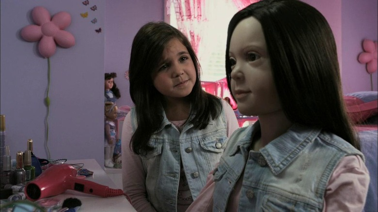 Bailee Madison in R.L. Stine's The Haunting Hour