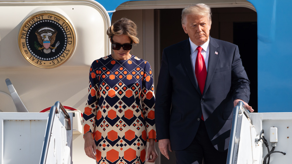 The Surprising Thing Melania's Valentine's Day Post Was Missing