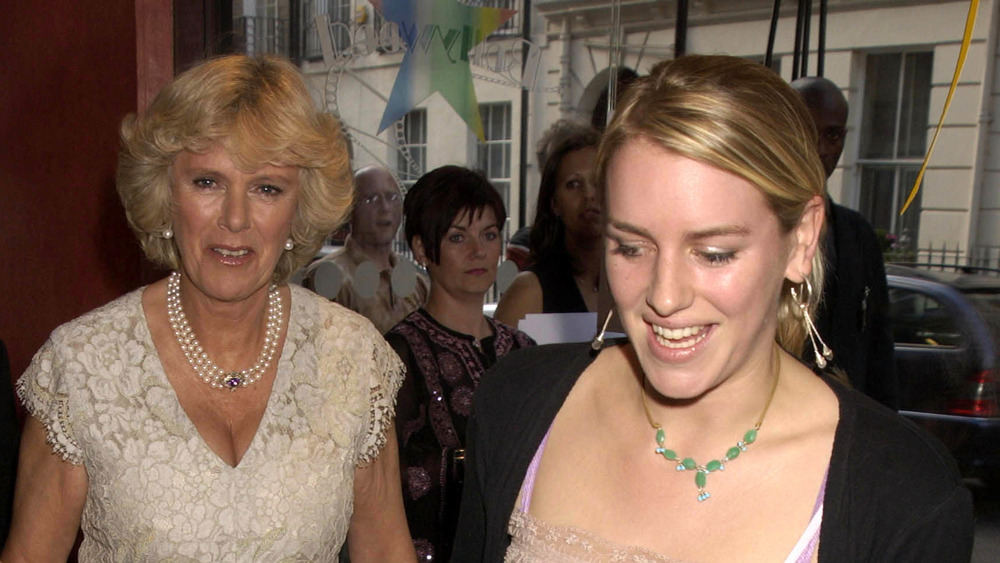 Camilla Parker Bowles and Laura Lopes at an event