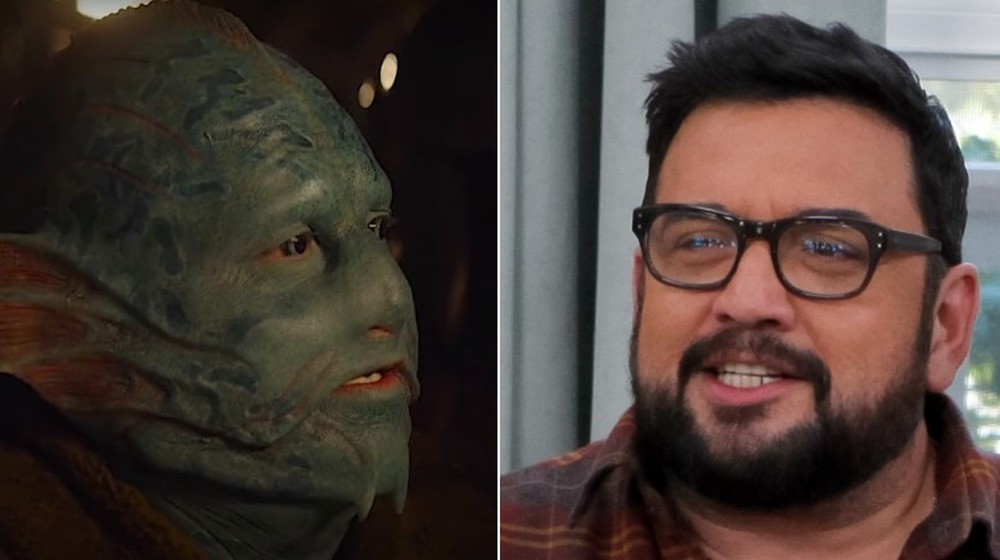 Horatio Sanz, split image