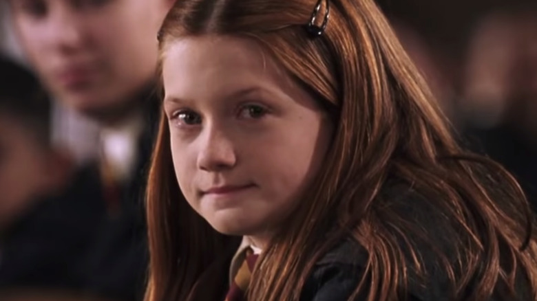 This is what happened to Ginny Weasley from Harry Potter