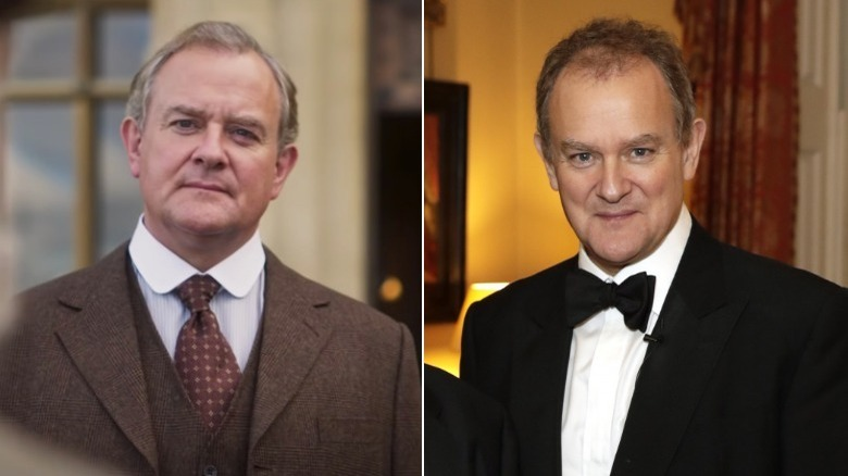 Hugh Bonneville, split image