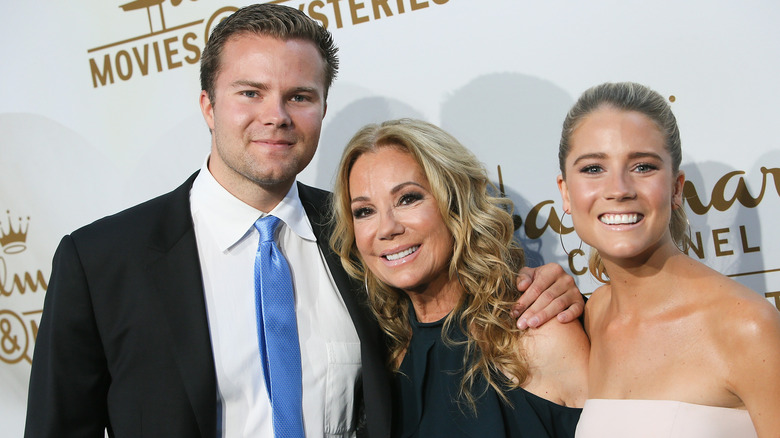 Kathie Lee Gifford with her children