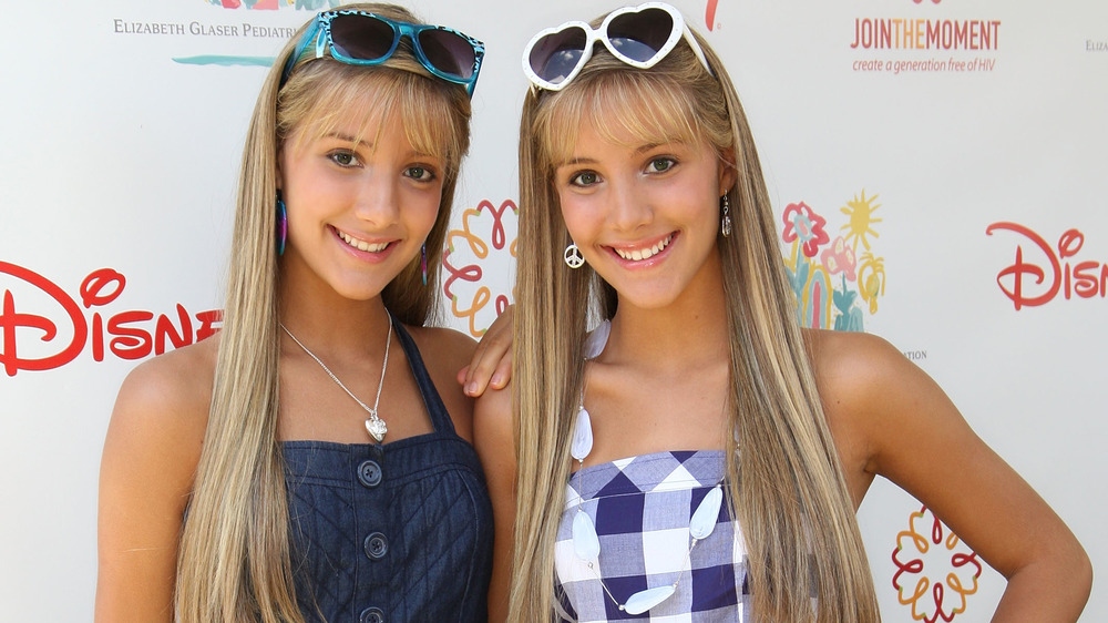 The Rosso twins at a Disney event