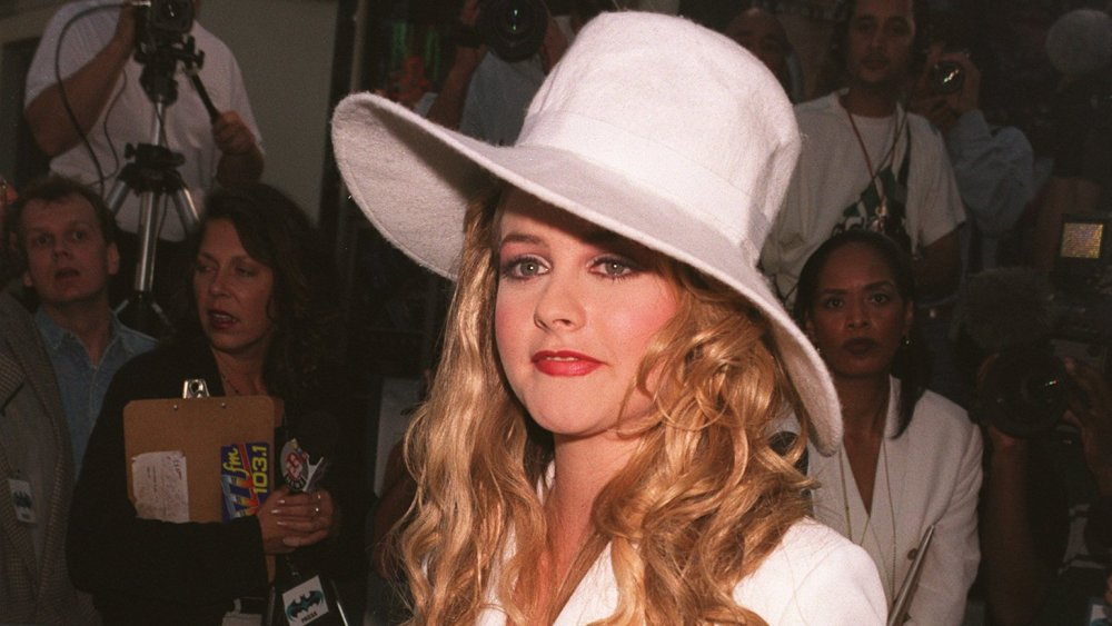 Alicia Silverstone at the Batman & Robin premier in 1997