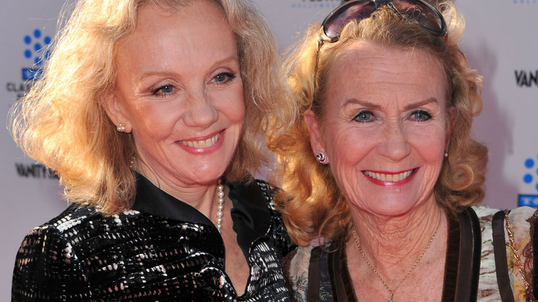 Hayley Mills and her sister