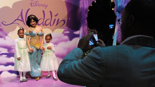 What it's like to work as a Disney princess